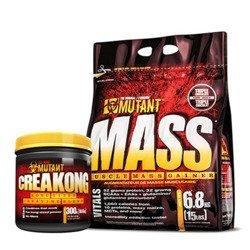 PVL Mutant Mass 6,8kg + Creakong 300g